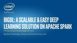 基于Apache Spark的分布式深度学...