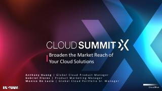 Broaden the Market Reach of Your Cloud Solutions