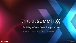 Building a Cloud Consulting Practice