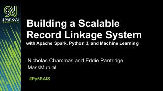 用Apache Spark、Python ...