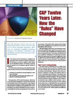 """CAP十二年后:""""规则""""如何变更"""