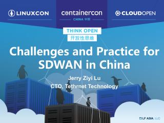 Challenges and Opportunities for SD-WAN in China