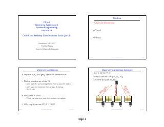 Chord和Berkeley数据分析软件栈