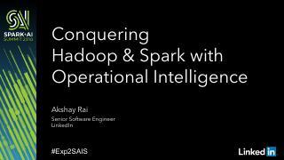 Conquering Hadoop 和 A...