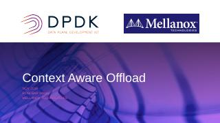 Offloading Context Aware Flows, OVS-DPDK Conn...
