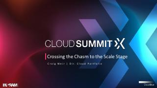 Crossing the Chasm to the Scale Stage