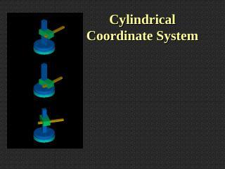 Cylindrical and Polar Systems