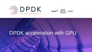 DPDK Acceleration With GPU
