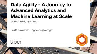 Data Agility—A Journe...