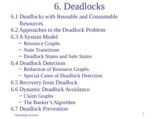 06-Deadlocks