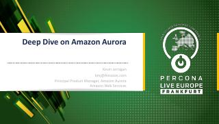 Deep Dive on Amazon Aurora