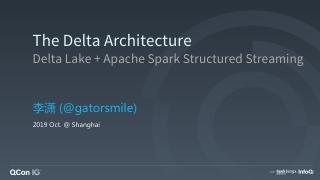 Delta Architecture