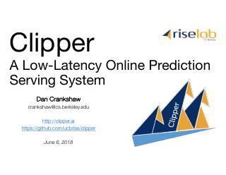 利用 Clipperd部署和监控异构机器学习应用