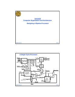 流水线处理器的设计