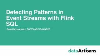 Detecting Patterns in Event Streams with Flin...