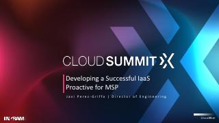 Developing a Successful IaaS Practice for MSPs