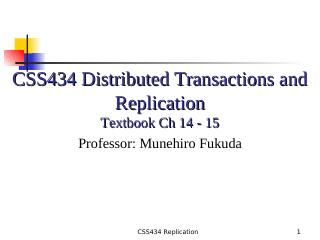 11-Distributed Transactions and Replication