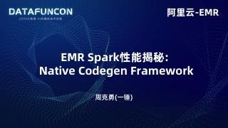 EMRSparkSQLNativeCodegenFramework71075