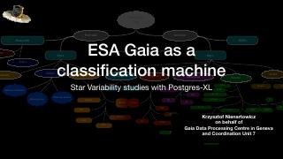 ESA Gaia Mission as a Classification Machine ...