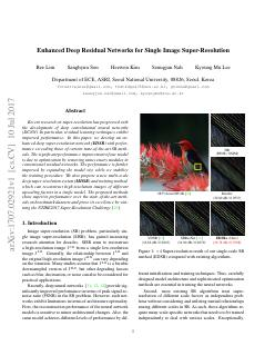 Enhanced Deep Residual Networks for Single Im...