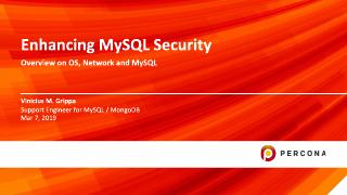 Enhancing MySQL Security