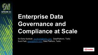 在规模企业中的数据理及其合规性