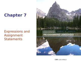 表达式和作业声明