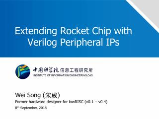 Extending Rocket Chip with Verilog Peripheral...