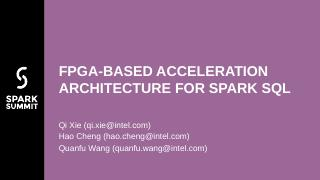FPGA-BASED ACCELERATION ARCHITEC