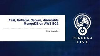 AWS EC2上的快速、可靠、安全且经济实...