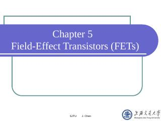 效应晶体管(FET)