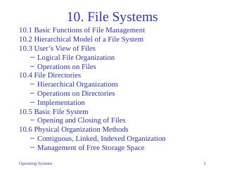 10-File Systems