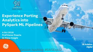 Ge aviation spark application experience port...