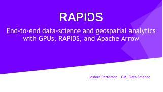 Geospatial_Patterson_RAPIDS_NVIDIA