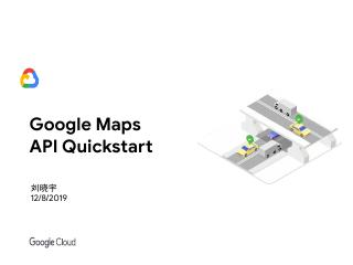 Google Maps API Quickstart
