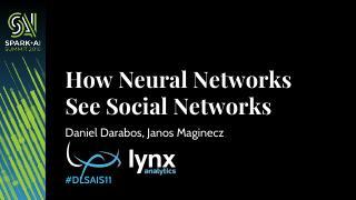 神经网络该如何看待社会网络