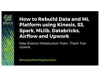 如何用Databricks和Upwork