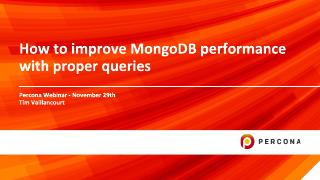 How to improve MongoDB performance with prope...