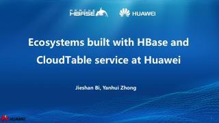 使用HBase构建大数据生态