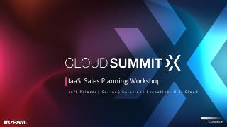 IaaS Sales Planning Workshop