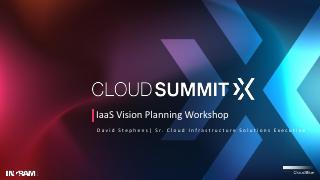 IaaS Vision Planning Workshop