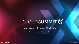 IaaS Vision Planning Workshop