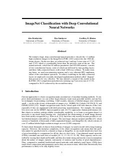 ImageNet Classification with Deep Convolution...