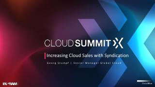 Increasing Cloud Sale with Syndication