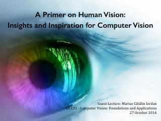 计算机视觉的洞察力和灵感