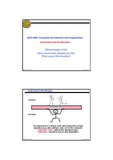 指令集架构