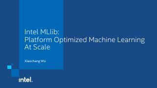 Intel.MLlib.External.Sharing