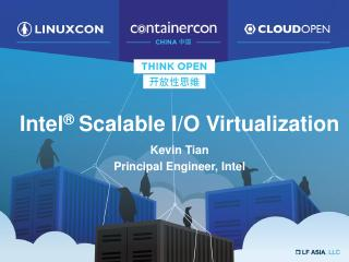 Intel® Scalable I/O V...