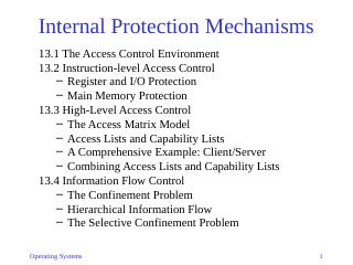 13-Internal Protection Mechanisms
