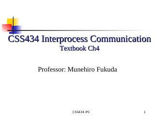 04-Interprocess Communication